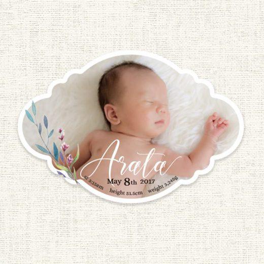 greeting hello出産報告
